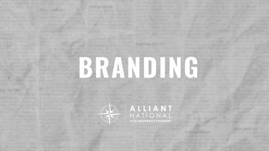 Graphic - branding gray