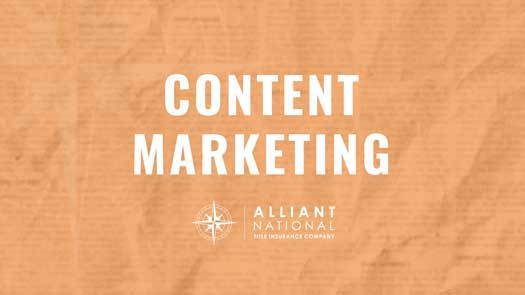 content marketing orange