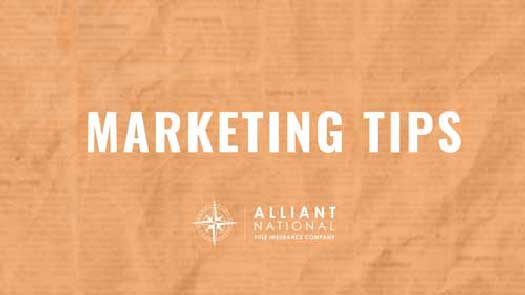 marketing tips orange