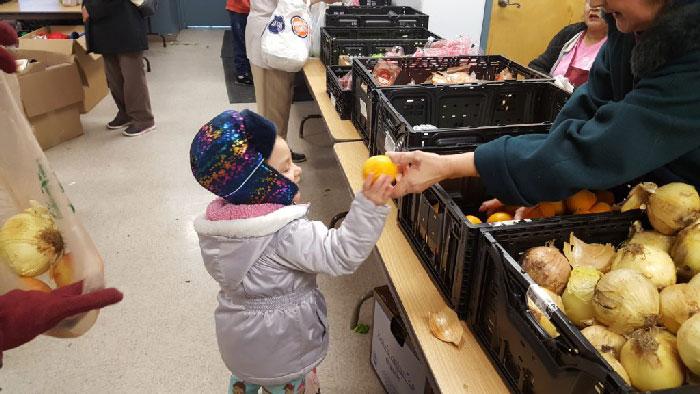 thrive food bank