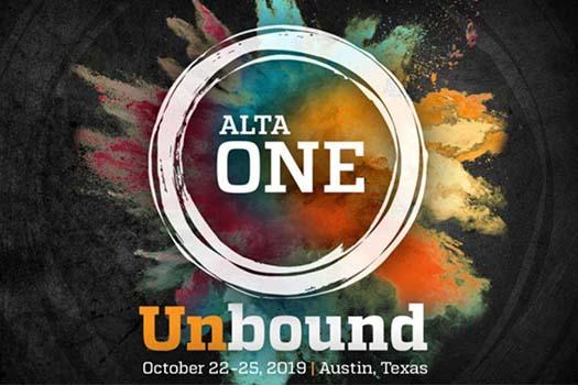 ALTA ONE 2019 - UNbound