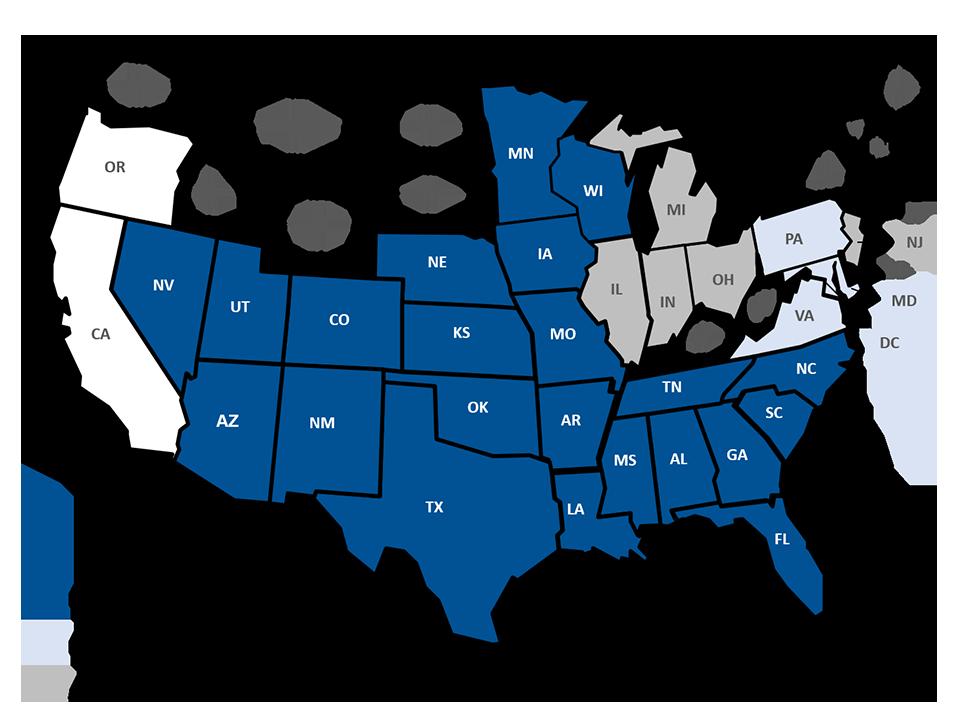 Where We Operate - Feb. 2020- Alliant National