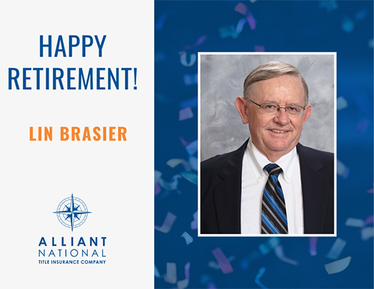 Happy Retirement to Lin Brasier
