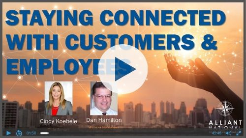 COVID-19 Staying Connected with Customers and Employees Webinar