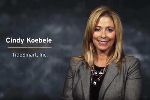 Cindy Koebele, CEO TitleSmart