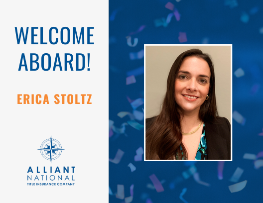 Erica Stoltz - welcome aboard graphic