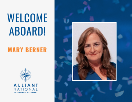 Mary Berner - welcome aboard graphic