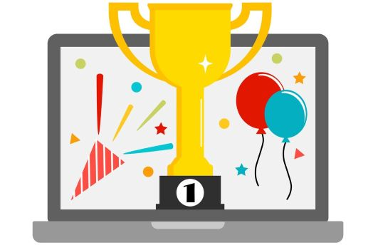 Computer is the winner an online award
