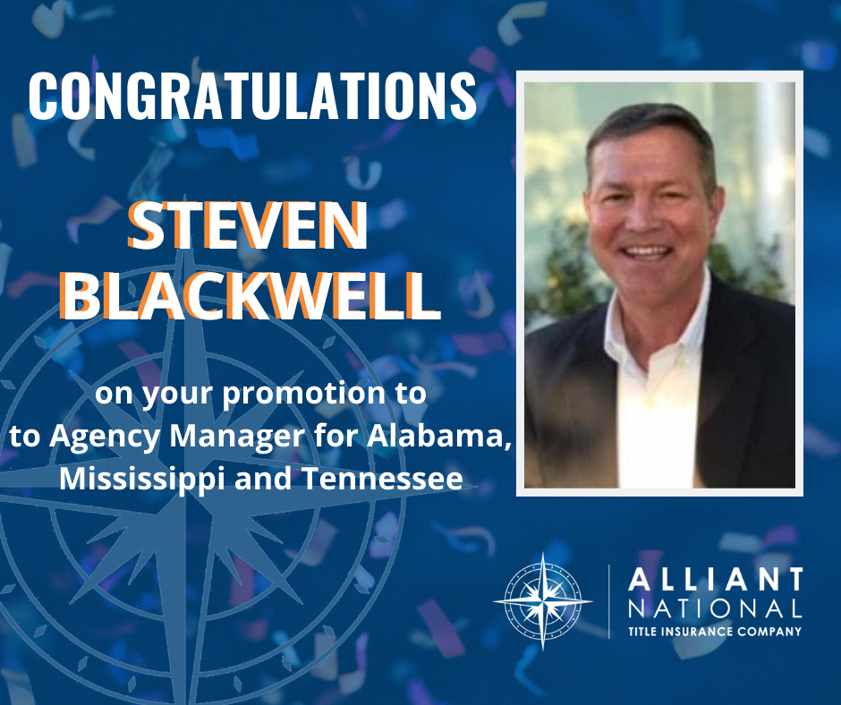 Celebrating Steven Blackwell's promotion