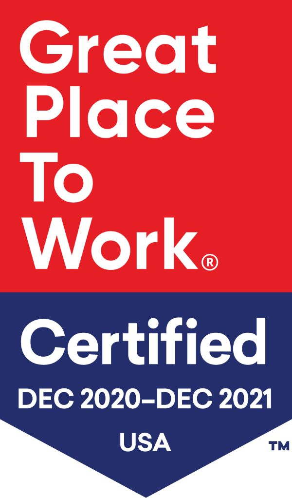 Great Place to Work 2020-12 badge
