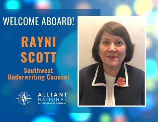 Celebrating Rayni Scott